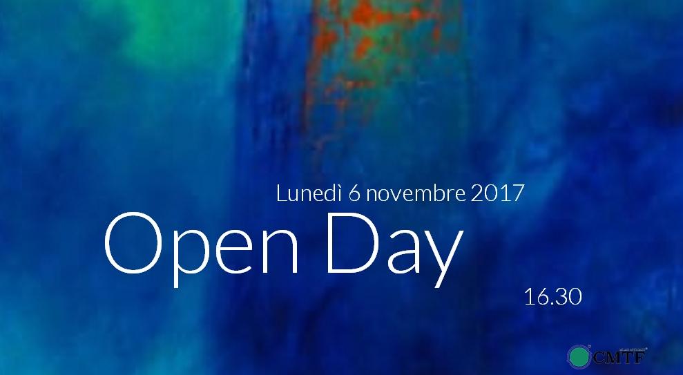 OPEN DAY – CMTF [6 novembre 2017]