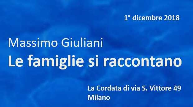 Massimo-Giuliani Le Famiglie si Raccontano