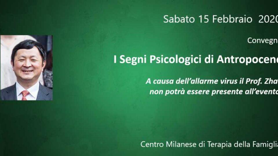 I SEGNI PSICOLOGICI DI ANTROPOCENE