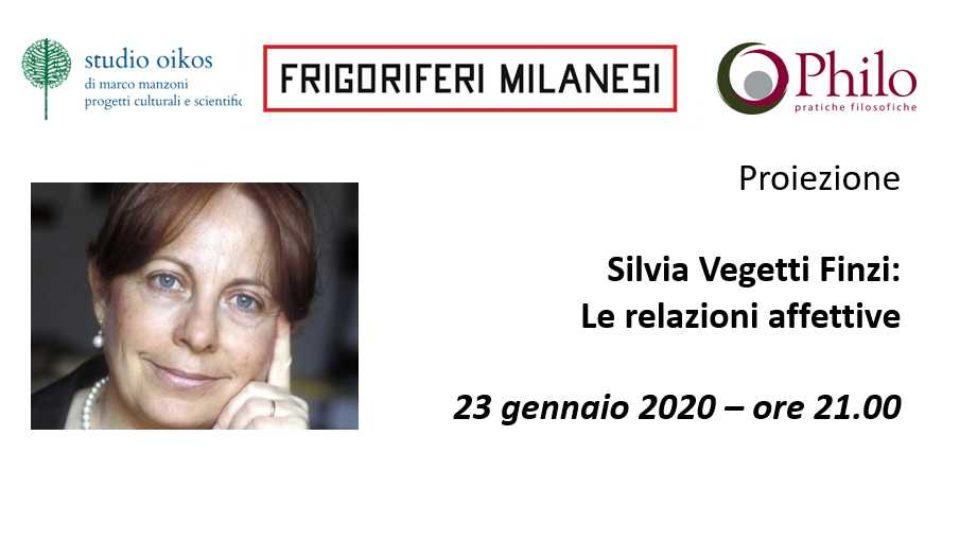 Silvia Vegetti Finzi – Proiezione